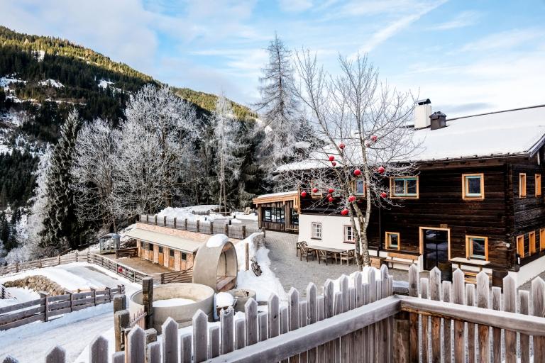 Peakini Farmhaus Lürzer Haus Außen Winter