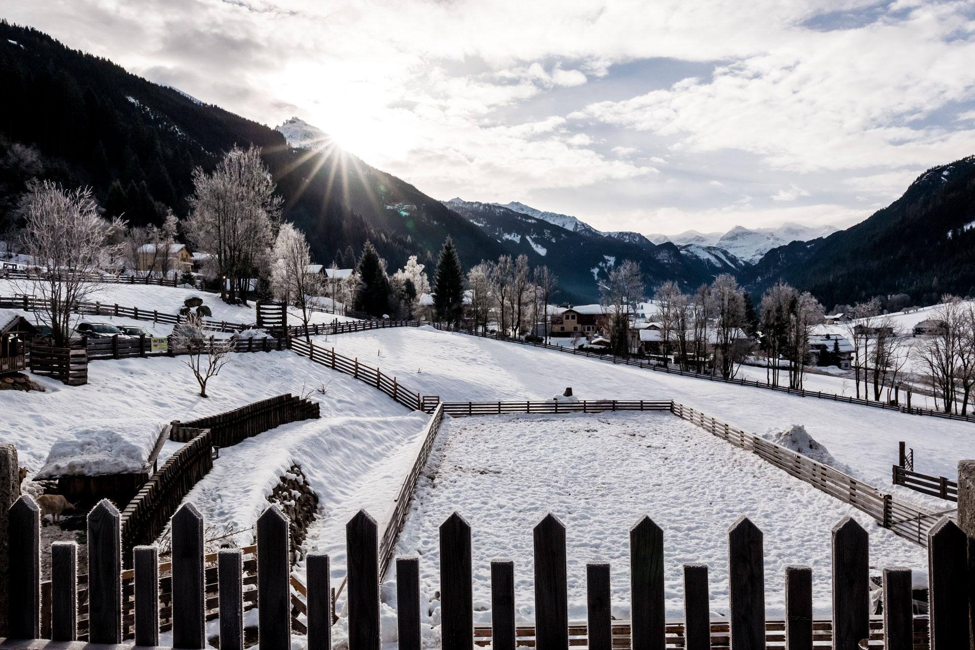 Peakini Farmhaus Lürzer Außen Winter