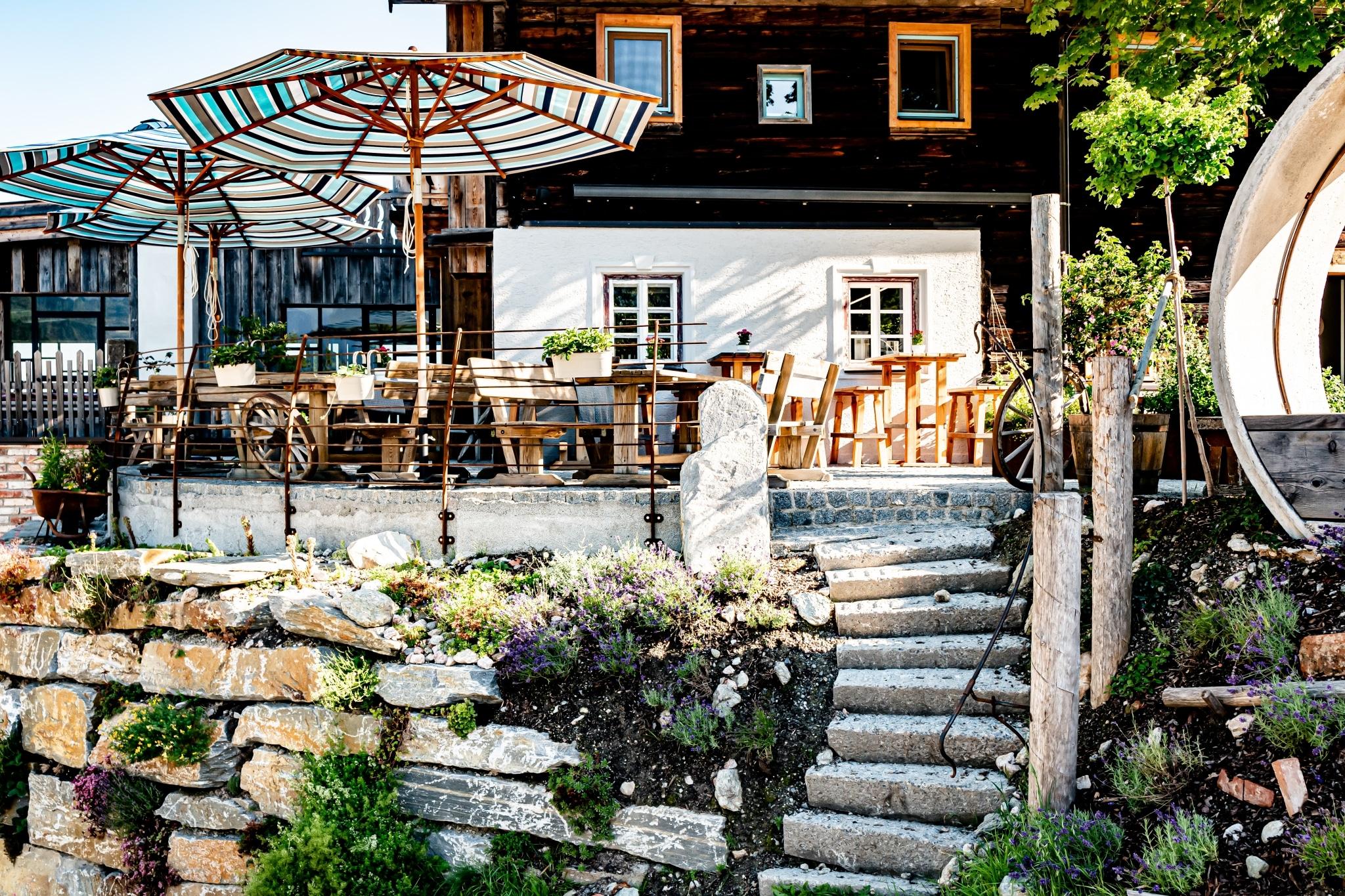 Peakini Farmhaus Außen Untertauern Salzburg Österreich